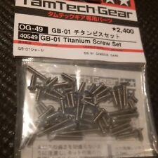 Tamiya TamTech-Gear Titanium Screw Set GB-01