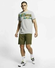 Nike Men'S Dri - Fit T-Shirt Short Sleeve Gray Tee Xl