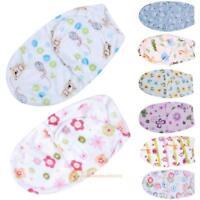 Baby Swaddle Wrap Soft Envelope Newborn Blanket Swaddling Sleeping Bag R1BO