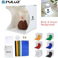 PULUZ Photo Studio Light Box Photography Backdrop Portable Mini Lightroom Tent
