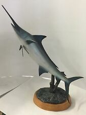 Hand Carved Blue Marlin By Chris Kight