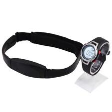Heart Rate Monitor Sport Fitness Watch Waterproof Wireless With Chest Strap