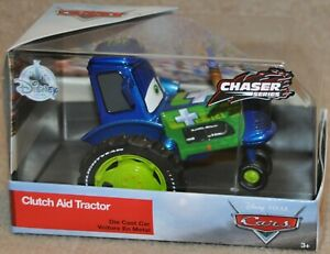 Disney Store Cars Diecast CLUTCH AID TRACTOR CHASER Series
