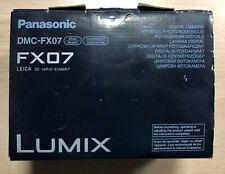 Panasonic Lumix DMC-FX07 Digital Camera, 7.2 MP, Silver