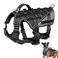 Military Tactical Dog Harness Molle Vest K9 Dogs Training Harnesses Service Vest