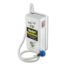 Quiet Bubbles Air Pump Aerator, Runs 52 hrs on 2 D-Batteries, Fishing Bait #B-14