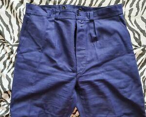 True Vintage deadstock 1950s French Workwear Trousers Pants W36