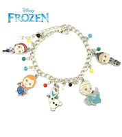 Disney's Frozen (5 Themed Charms) Assorted Metal Charm Bracelet