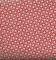 Storybook Ranch red floral 30s reproduction Windham fabric