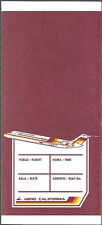 AeroCalifornia ticket jacket wallet DC-9 95 [6122]