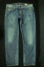 "Kiliwatch Tailored Denim ""Initial"" Faded Blue Denim Jeans Size 38 Zip Fly"