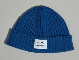 LIMITED FINISTERRE BEANIE HAT BLUE LABEL SURF LIKE PATAGONIA