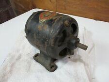 Rare Antique Crocker Wheeler Co. Dc Motor - fan tool machine Bipolar