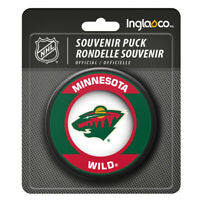 Minnesota Wild NHL Retro Team Logo Souvenir Hockey Puck