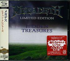 MEGADETH HIDDEN TREASURES 2016 LMT EDT JAPAN SHM HIGH FIDELITY FORMAT CD
