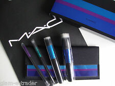 MAC ENCHANTED EVE mineralize Brush Kit x Set di 4 spazzole Bnwt Ltd Ed