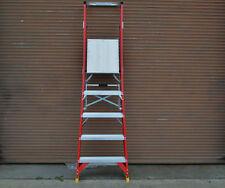 Platform Fibreglass Ladder  1.5M 5 Step 5 ft foot Australian standard approved