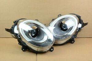 Mint! 16 17 18 Mini Cooper S Left Right LED Headlight Headlamp Set Pair OEM