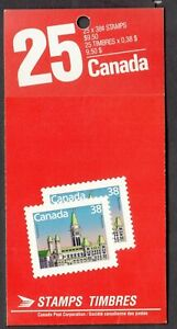 CANADA BOOKLET 103c M/NH UNEXPLODED FACE 9.50  CV 30$   SEE SCAN!