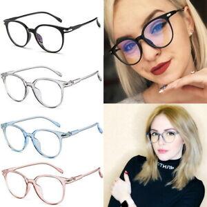 Computer Gaming Blue Light Blocking Glasses Retro Anti Glare Eyewear Vision Care