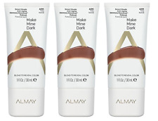 Almay Smart Shade Anti Aging Skintone Matching Makeup #600 Make Mine Dark (3 Pk)