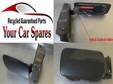 Citroen C5 MK1 - Fuel Flap / Cover / Grey EYPC - 9633284180