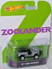 Retro Entertainment 1967 FORD BRONCO * ZOOLANDER * 1:64 Hot Wheels