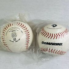 Lot of 2 softballs 12 inch DeMarini Performance Sealed Bag Softballs