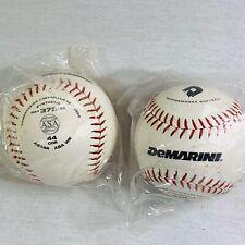Lot of 2 softballs 12 inch  DeMarini Performance  Sealed Bag Softballs