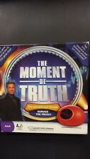 The Moment Of Truth Board Game with Toy Biometric Lie Detector SEALED and NEW