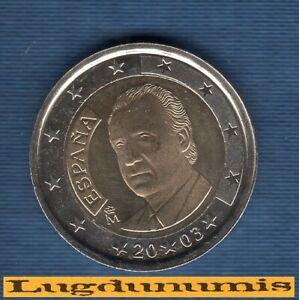 Espagne 2003 2 Euro SUP SPL Pièce neuve de rouleau - Spain