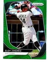 ELOY JIMENEZ Chicago White Sox 2020 Panini Prizm Baseball #160 Green PRIZM