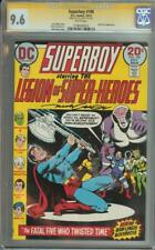 SUPERBOY #198 SS CGC 9.6 AUTO NICK CARDY LEGION OF SUPER-HEROES FATAL FIVE