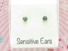 Gentle For Little Ears Tiny Tips Allergy Free Sterilized Crystal Stud Earrings