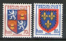 TIMBRES N° 958-959 NEUF * * GOMME ORIGINALE -  SERIE D'ARMOIRIES DE PROVINCES