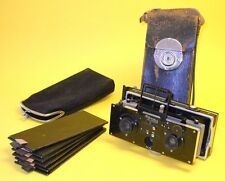 Zulauf Polyscop 1910 - Antique Stereo Camera in very good condition (ICA, Zeiss)