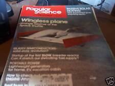 Popular Science 4/78 Wingless Plane