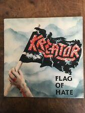 """KREATOR """"Flag Of Hate"""" Noise German 1986 LP NM"""