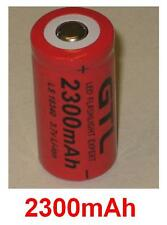 Batterie 2300mAh type CR123 CR123A CR16340 CR17335 CR17335SE Pour Olympus µ 70