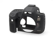 Piel de silicona negro/Cubierta/Armadura para Canon 5D Mark III por easyCover Reino Unido Stock