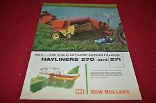 New Holland 270 271 Hay Baler Dealers Picture YABE11 ver5