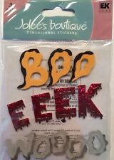 """Jolee's Boutique """"Scary Noises"""" Halloween Dimensional Stickers"""