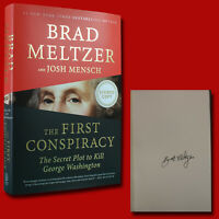 The First Conspiracy by Brad Meltzer (2019,HC,1st/1st) SIGNED BRAND NEW