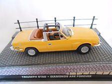 TRIUMPH STAG - DIAMONDS ARE FOREVER 1/43ème
