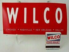 Wilco A.M. Bumper Sticker and Book Of Matches (1995)