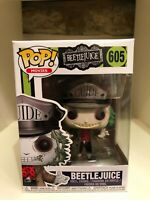 BEETLEJUICE GUIDE WITH HAT FUNKO POP MOVIES 605
