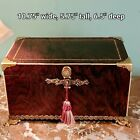 A Fine Antique French Exotic Wood   Ormolu Table Work Box