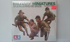 1980s Tamiya Military Miniatures 1:35 Scale Japanese Army Infantry NIB Japan