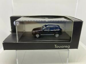 WIKING 1:87 VW TOUAREG NEGRO DEALER EDITION