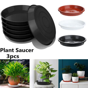 Round Flower Pot Drip Trays Plastic Tray Saucers Plant Saucer Indoor Outdoor